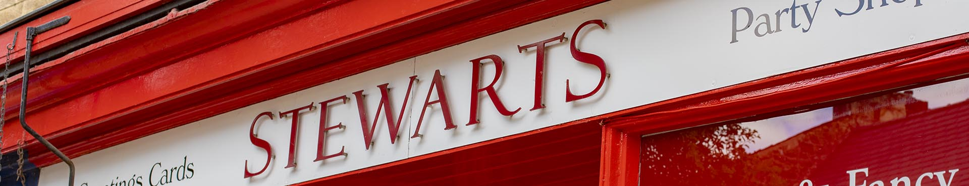 Stewarts of Bakewell Party Shop
